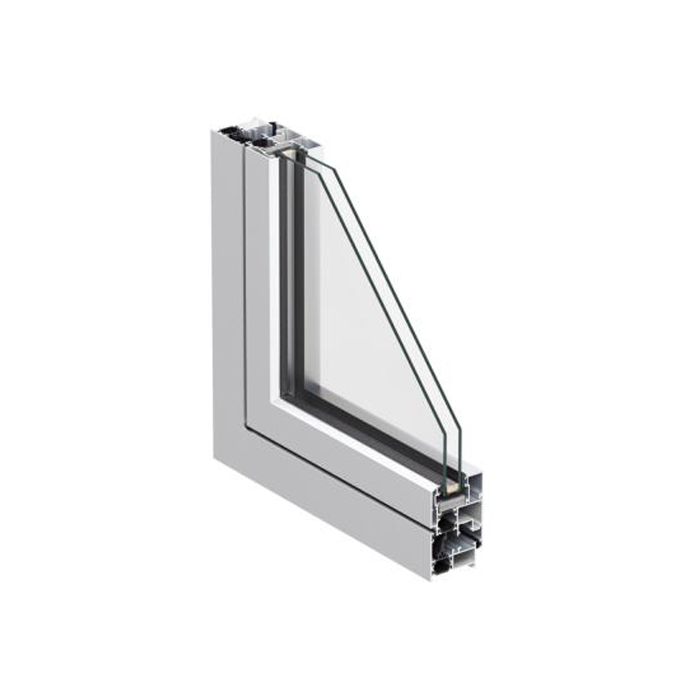 Abatible Serie 3500RT Canal 16, Brisa Aluminio & PVC