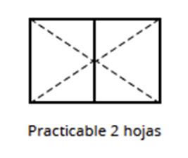 practicable-una-hoja-exterior